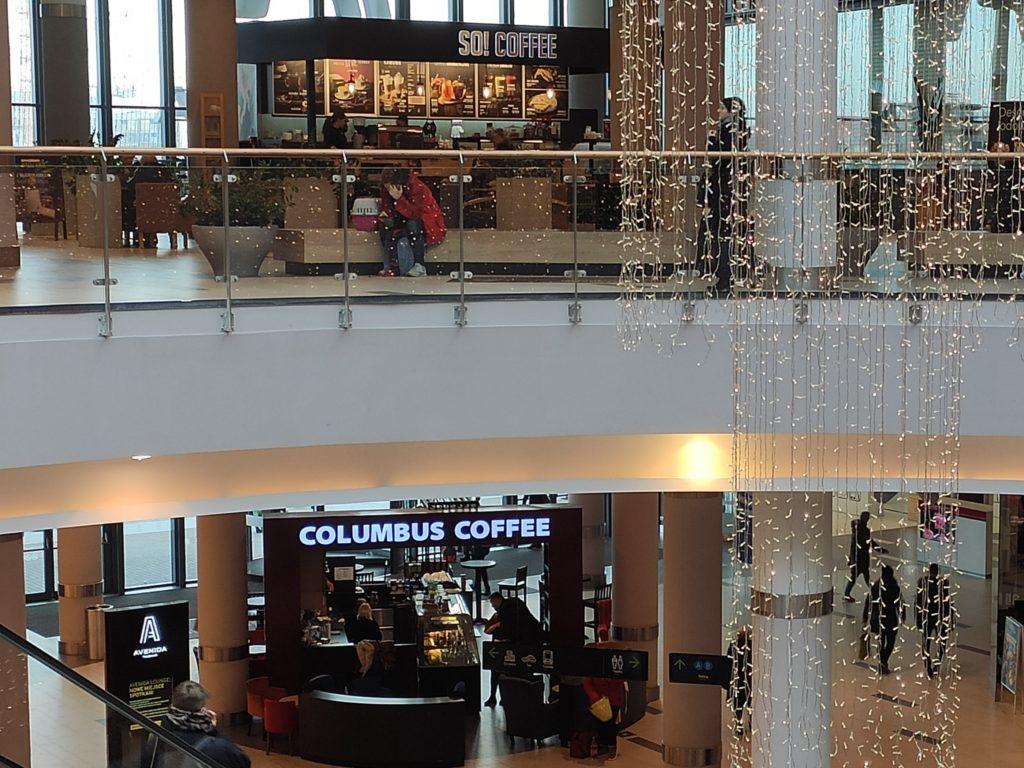 So! Coffee i Columbus Coffee w CH Avenida